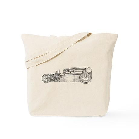 Vintage Tudor-Sketch-black- Tote Bag