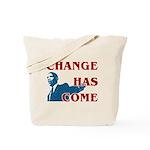 Change Has Come Tote Bag