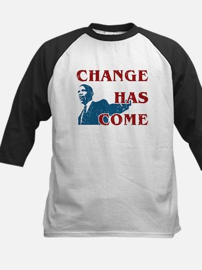 Change Has Come Kids Baseball Jersey