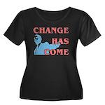 Change Has Come Women's Plus Size Scoop Neck Dark
