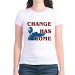 Change Has Come Jr. Ringer T-Shirt