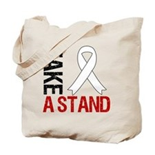 Lung Cancer Take a Stand Tote Bag