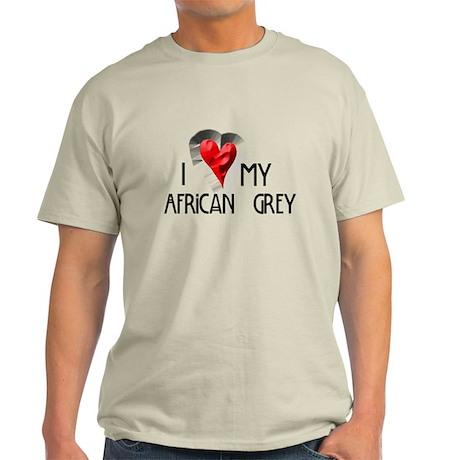 Love My African Grey Light T-Shirt