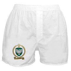 THEBEAU Family Crest Boxer Shorts