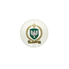 THEBEAU Family Crest Mini Button (10 pack)