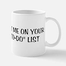 To-Do List Mug