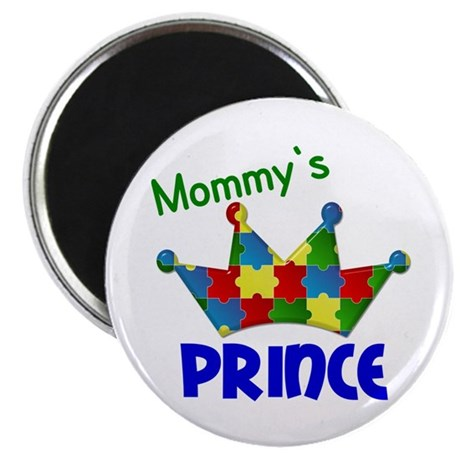 """Autistic Prince 3 2.25"""" Magnet (10 pack)"""