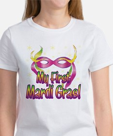 MY FIRST MARDI GRAS! Women's T-Shirt