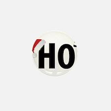 Christmas Ho Ho Ho Santa Mini Button (100 pack)