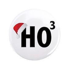 Christmas Ho Ho Ho Santa 3.5&Quot; Button (100 Pac