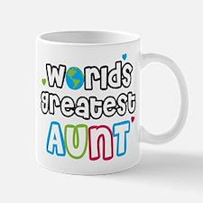 WorldsGreatestAunts Mugs