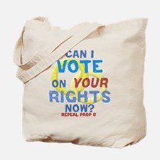 Prop 8 -Your Rights Tote Bag