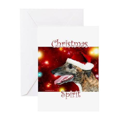 Brindle Spirit Greeting Card