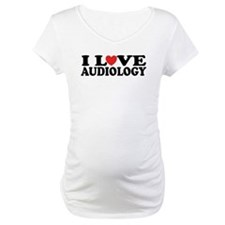 I Love Audiology Shirt