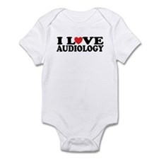 I Love Audiology Infant Bodysuit