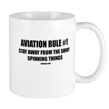 AVIATION RULE #1 Small Mug