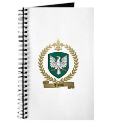 THEBAU Family Crest Journal