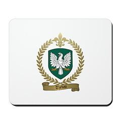 THEBAU Family Crest Mousepad