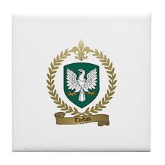 THEBAU Family Crest Tile Coaster