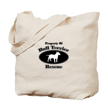 Property of Bull Terrier Resc Tote Bag