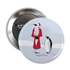 "Penguin Noel 2.25"" Button"