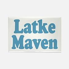 Latke Maven Rectangle Magnet