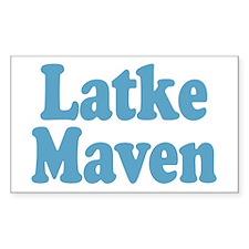 Latke Maven Rectangle Decal
