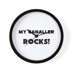 MY Canaller ROCKS! Wall Clock
