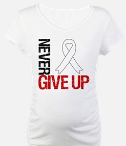 Lung Cancer Never Give Up Shirt