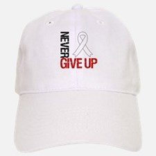 Lung Cancer Never Give Up Baseball Baseball Cap