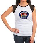Farmington Police Women's Cap Sleeve T-Shirt