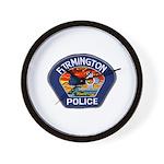 Farmington Police Wall Clock