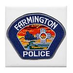 Farmington Police Tile Coaster