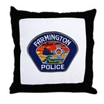 Farmington Police Throw Pillow