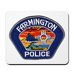 Farmington Police Mousepad