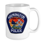 Farmington Police Large Mug