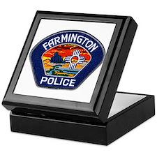 Farmington Police Keepsake Box
