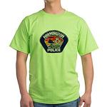 Farmington Police Green T-Shirt