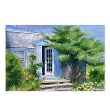Nantucket Beach Cottage Postcards (Package of 8)