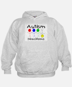 Autism, Embrace Differences Hoodie