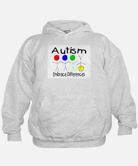 Autism, Embrace Differences Hoody