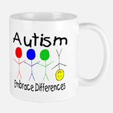 Autism, Embrace Differences Mug