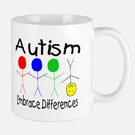 Autism, Embrace Differences Mug