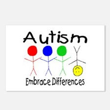Autism, Embrace Differences Postcards (Package of
