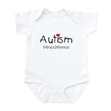 Autism, Embrace Differences Infant Bodysuit