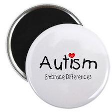 Autism, Embrace Differences Magnet