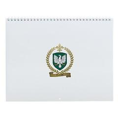 THEBAUT Family Crest Wall Calendar