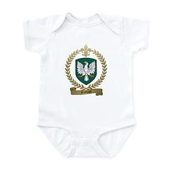 THEBAUT Family Crest Infant Creeper