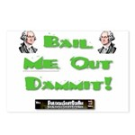 PSDB Bail Me Out Dammit Postcards (Package of 8)