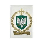 THEBAUT Family Crest Rectangle Magnet